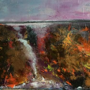 Peinture, huile, abstrait, œuvre d'art par Gutierrez