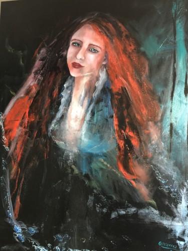 Peinture, huile, œuvre d'art par Gutierrez